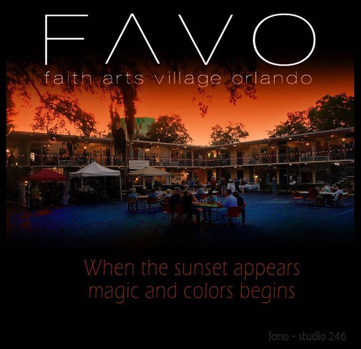 FAVO at sunset