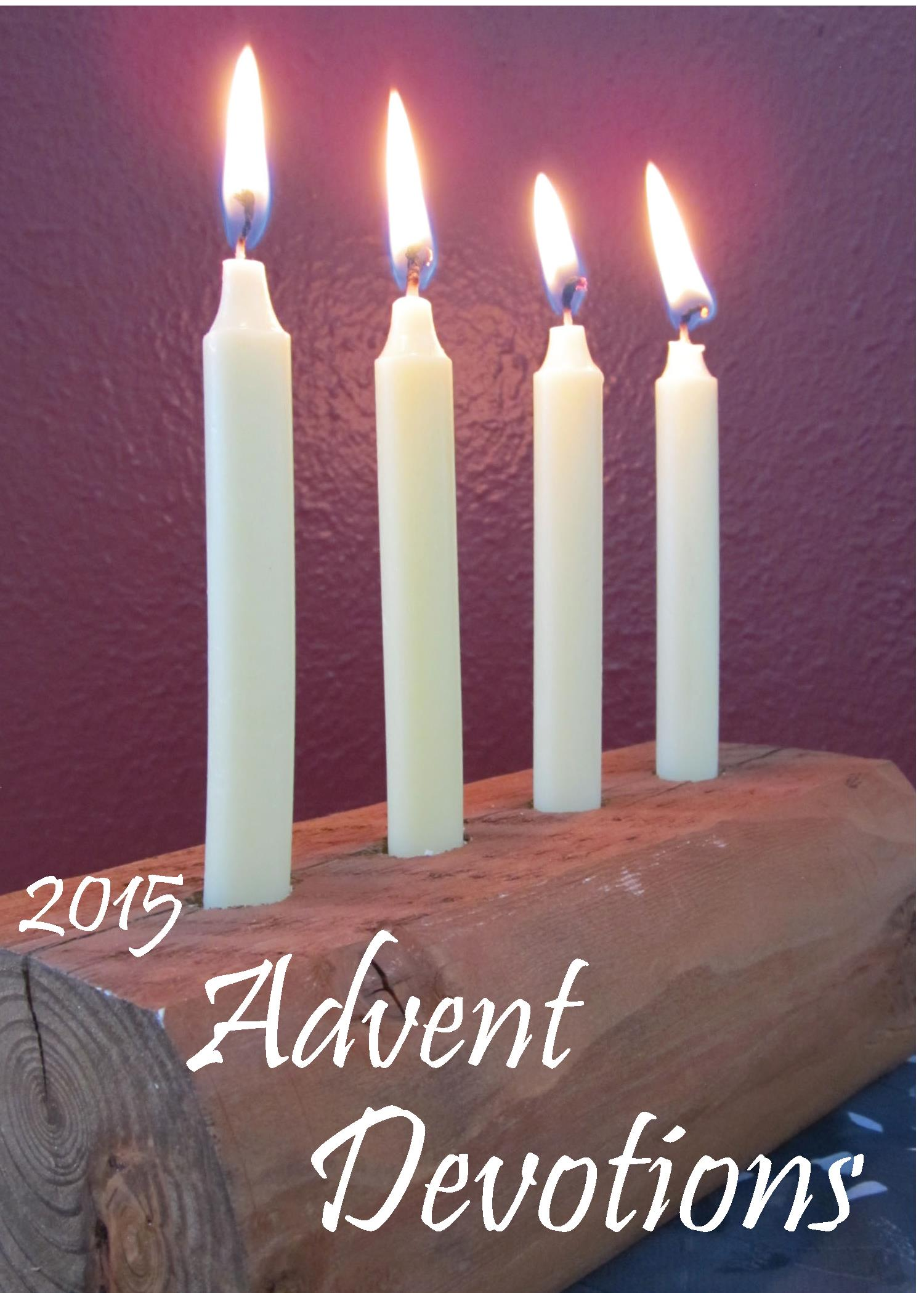 advent devotions 2015