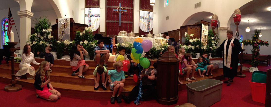 Gathering of the Children Easter Morning Worship