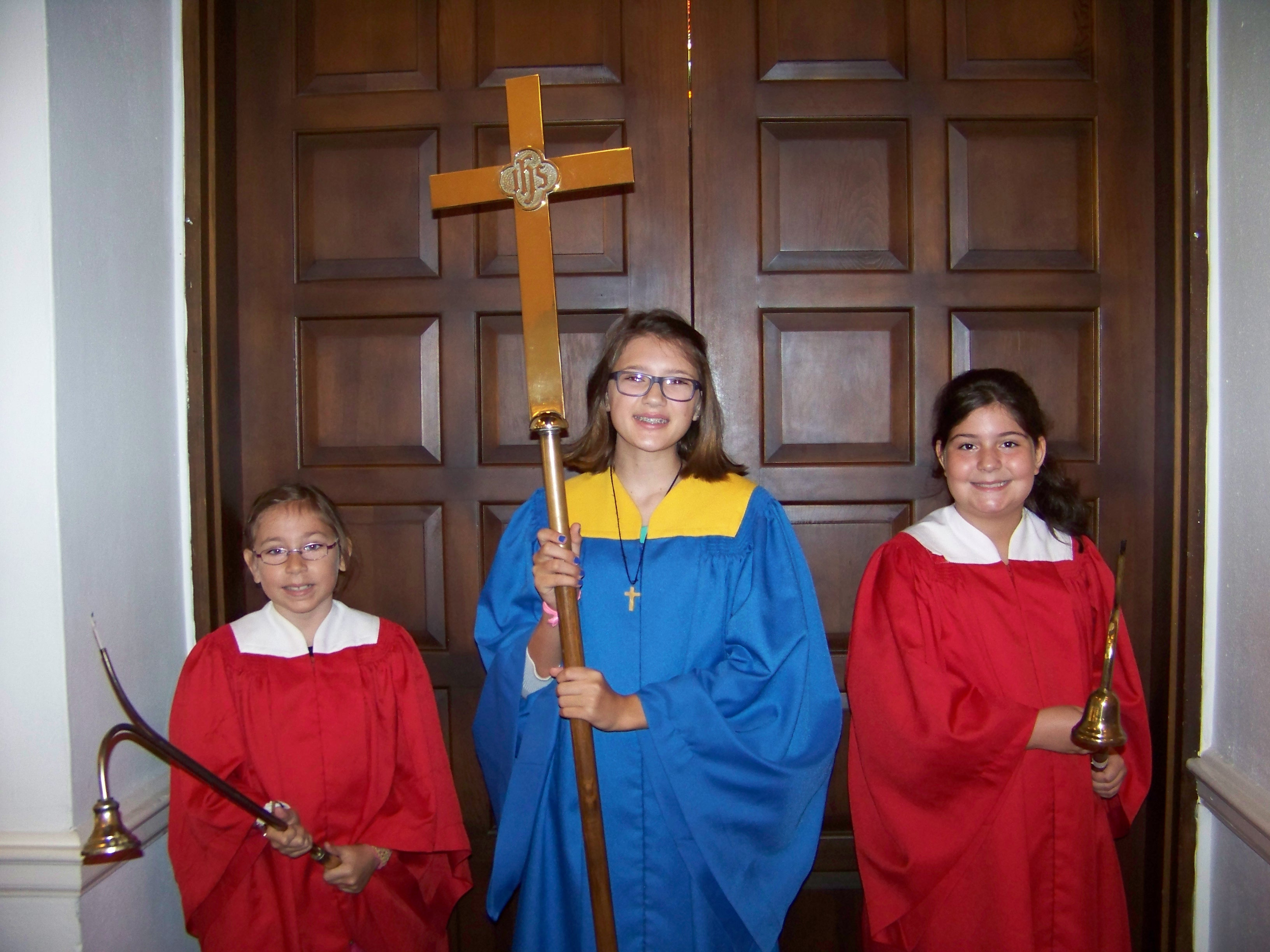 Acolytes and Cross Bearer