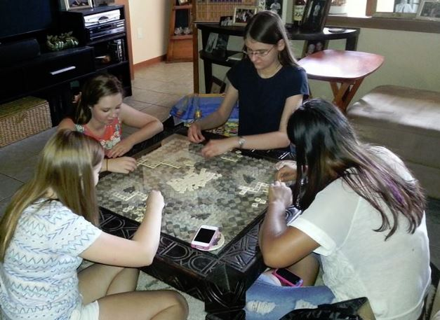 Youth Scrabble Game