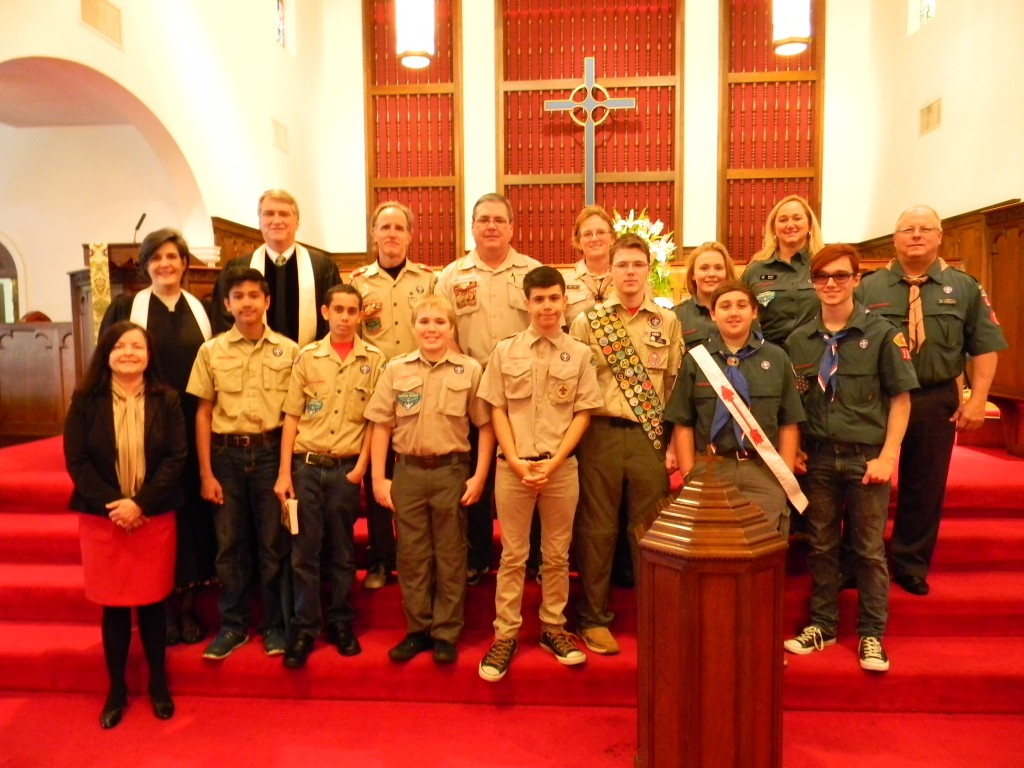 boy scout sunday 2015