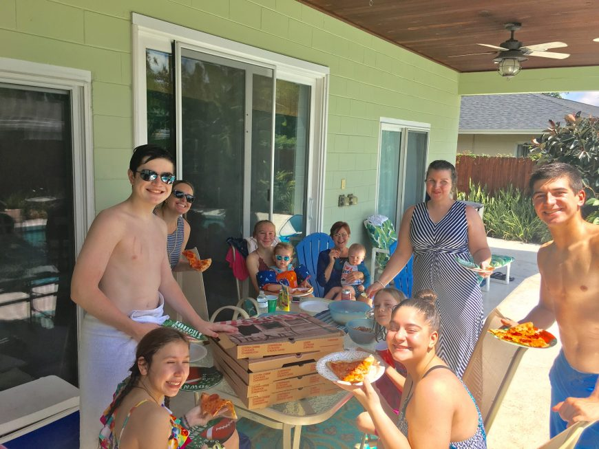 youth pool party sept 2018