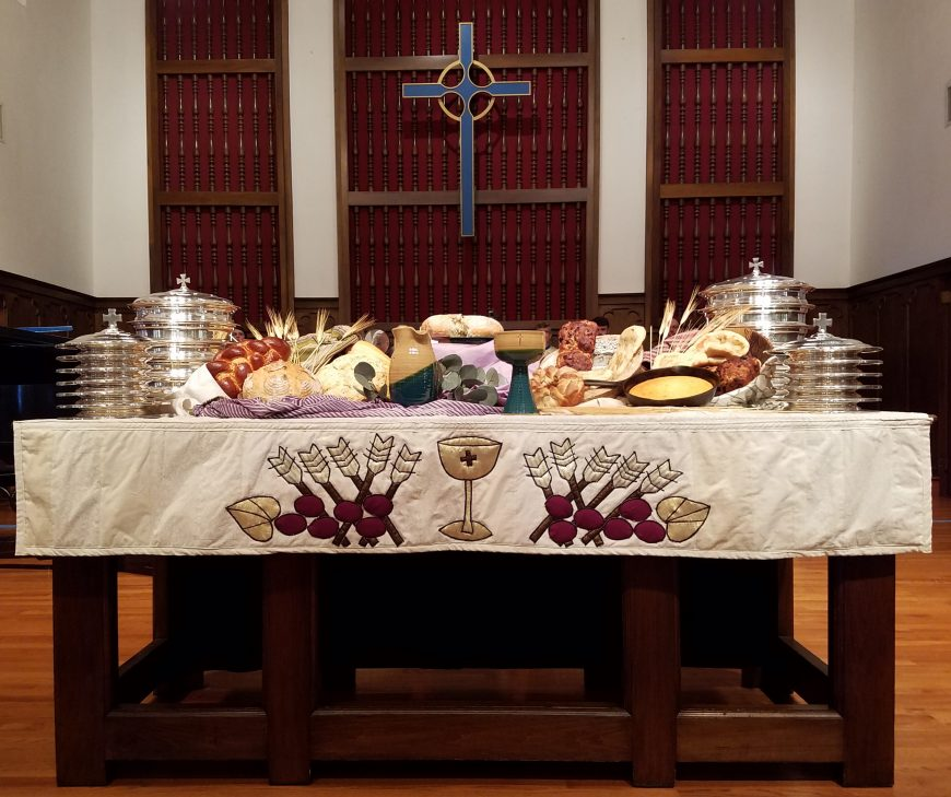 world communion sunday oct 2018
