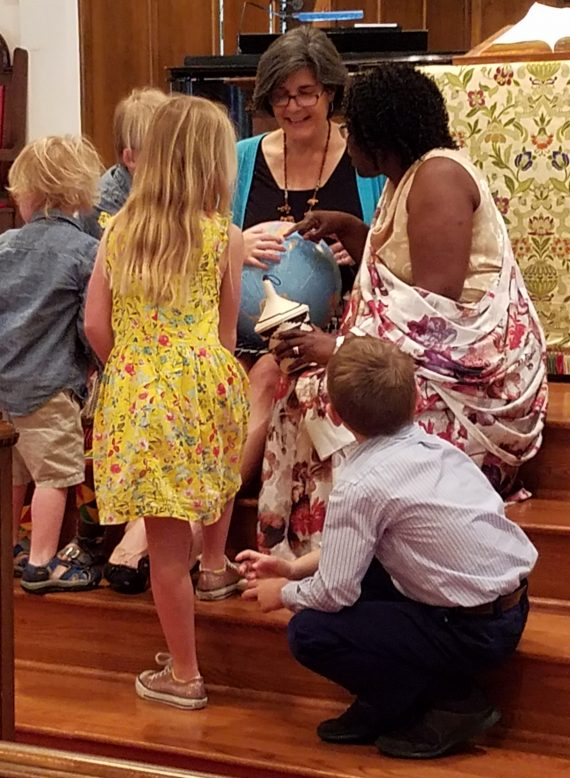 mission fair children's sermon feb 2019