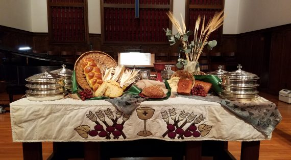 world communion sunday oct 2019