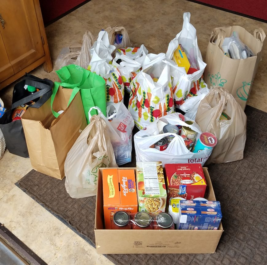 Food donations june 23 2020
