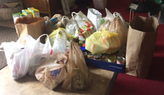 canned food drive july 2020