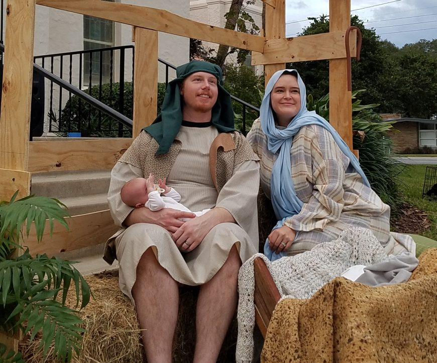 live nativity holy family dec 2020