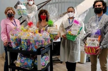 Easter baskets at Grace 2021