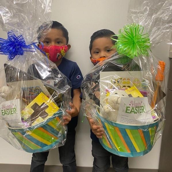 Easter Baskets Grace Medical - kids